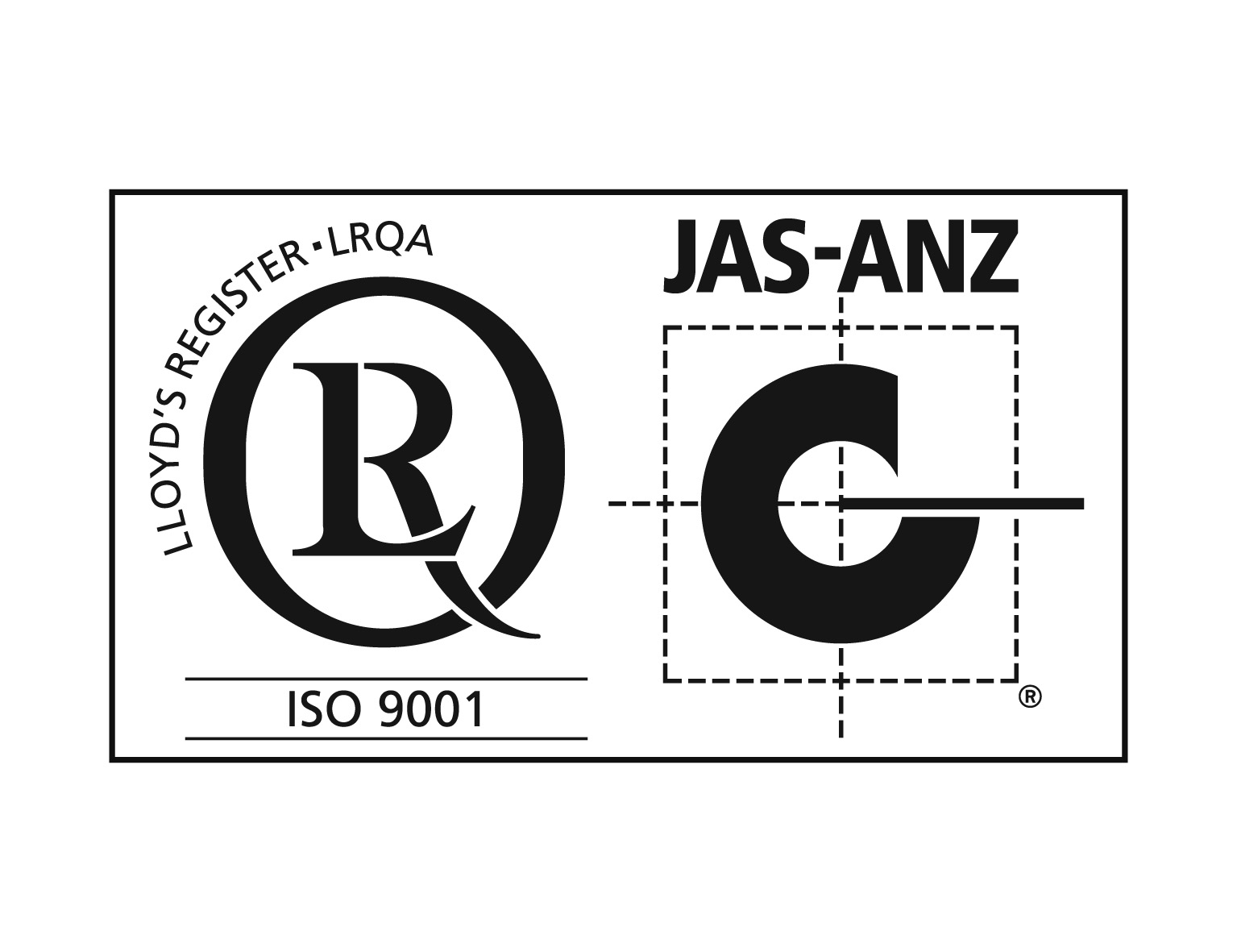 ISO9001 with JAS-ANZ